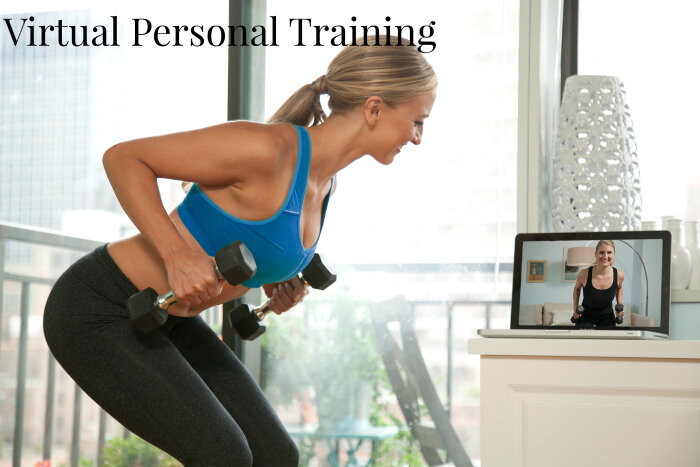 virtual personal training, fat loss, muscles gain, senior fitness. Physiques Fitness by Elvira
